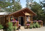 Camping avec Piscine Saint-Martin-de-Queyrières - Camping-Caravaneige l'Iscle de Prelles-1