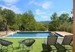 Location vacances  Ardèche - House Maison en bois avec piscine 4 chambres-1