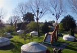 Camping avec Hébergements insolites Denneville - Camping Le Village de Yourtes-1