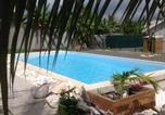 Hôtel Guadeloupe - Chambre d'hôte dansvilla Coeur-Coco piscine-1