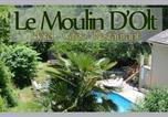 Hôtel Aumont-Aubrac - Le Moulin D'Olt-1