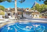 Location vacances Finestrat - Finestrat Villa Sleeps 6 Air Con Wifi-1
