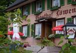 Hôtel Sankt Märgen - Feriengasthof Löwen-1