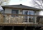 Location vacances Green Lake - Pickerel Cabin - Waterfront resort on Fremont Wolf River-2