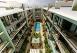 Location vacances Playa del Carmen - Lovely One Bedroom With Amazing Terrace View-3