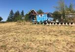 Location vacances Véranne - La roulotte et la cabane de la colline seive-4