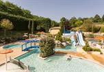 Camping avec Parc aquatique / toboggans France - Camping L'Escapade-1