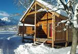 Camping Savoie - Les chalets Huttopia de Bourg-St-Maurice-1