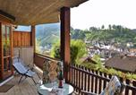 Location vacances Wolfach - Quaint Apartment with Private Terrace, Garden, Barbecue-4