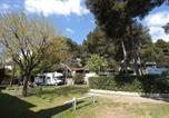 Camping avec Piscine couverte / chauffée La Colle-sur-Loup - Parc des Maurettes-4