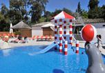 Camping avec Parc aquatique / toboggans Var - Camping Domaine des Naiades-1