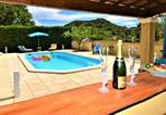 Location vacances Saint-Just-d'Ardèche - Villa with 3 bedrooms in Saintalexandre with wonderful mountain view private pool enclosed garden-1