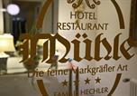 Hôtel 4 étoiles Blotzheim - Hotel Mühle-3