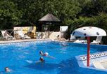 Camping avec Piscine couverte / chauffée Beaumont-du-Périgord - Camping Au Soleil d'Oc-4