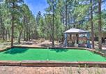Location vacances Holbrook - Show Low Home with Hot Tub, Putting Green, and Gazebo!-1
