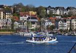Location vacances Flensburg - Hafenblick vom Kapitänshaus-2