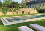 Location vacances Saint-Martin-des-Entrées - Le Tardif, Noble Guesthouse-3