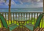 Location vacances Lihue - Kapa'a Sands 11 Ocean Front Studio with Kitchen-1