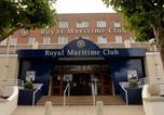 Hôtel Gare sud de Portsmouth - Royal Maritime Club-3
