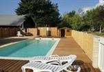 Camping avec Piscine couverte / chauffée Saint-Martin-d'Entraunes - Camping Le New Rabioux-1