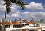 Hôtel Panamá - Gatto Blanco Party Hotel-4