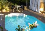 Hôtel Lanton - Villa Mogador Piscine et Balnéo-1