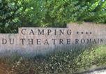 Camping 4 étoiles Villes-sur-Auzon - Camping du Théâtre Romain-3