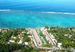 Location vacances  Polynésie française - Sunset Beach Carlton- Tahiti - beachfront luxury residence & pool - 4 pers-3