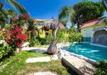 Location vacances  Antilles néerlandaises - Breathtaking Oceanfront Villa - Private Pool - Amazing View-1