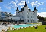 Hôtel 4 étoiles Carquefou - Château des Tourelles, Hôtel Thalasso Spa Baie de La Baule-1