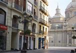 Hôtel Zuera - Apartamentos Sabinas Alfonso-1