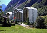 Hôtel 4 étoiles Pied des pistes Les Houches - Th Courmayeur-2