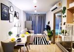 Location vacances Phra Khanong - Ideo O2 Bitec Bts Bangna 400m can cook free swimming pool Wifi gym sauna-1