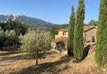 Location vacances Plaisians - Fontaine Nouvelle maison de charme Drôme Provençale, 10 personnes avec piscine-2