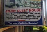 Location vacances Kampala - Enjoy Guesthouse-1