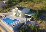 Location vacances Podbablje - Villa Melani with pool - Poljica-2
