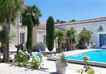 Hôtel Geay - Chambre d'hôtes villa des 3 grâces