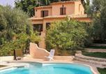 Location vacances Spéracèdes - Appartement d'une chambre a Peymeinade avec magnifique vue sur la montagne piscine privee jardin clos a 15 km de la plage-1