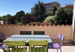 Location vacances Argelès-sur-Mer - Apartment Le central beach 8-1
