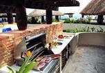 Location vacances  Mexique - El Taj Oceanfront and Beachside Condo Hotel-1