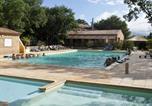 Camping avec Piscine La Roque-d'Anthéron - Camping Domaine des Chenes Blancs-2