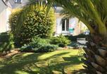 Hôtel Quinéville - Côté jardin des Charmilles-4