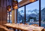 Hôtel 5 étoiles Combloux - Grand Hotel Courmayeur Mont Blanc-1