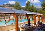 Camping avec Piscine couverte / chauffée Drôme - Camping le Lac Bleu-3