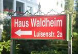 Hôtel Malente - Haus Waldheim-2