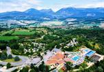Camping avec Ambiance club Rhône-Alpes - Yelloh! Village - Les Bois Du Chatelas-1