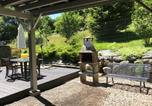Location vacances Ternuay-Melay-et-Saint-Hilaire - Studio in Le Menil with wonderful mountain view furnished garden and Wifi 4 km from the beach-3