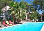 Hôtel Gallargues-le-Montueux - Sous les pins-1