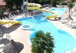 Camping avec Parc aquatique / toboggans France - Camping Les Biches-1