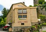 Hôtel Besse-et-Saint-Anastaise - Logis Hôtel de la Paix-3